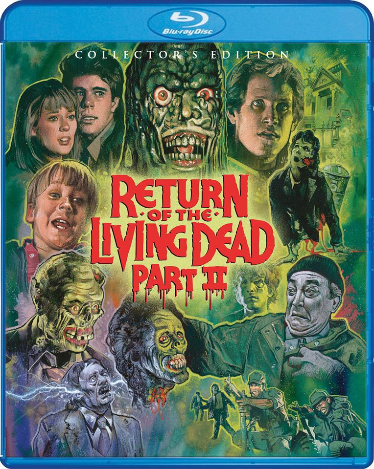 Return of the Living Dead 2 Blu-Ray