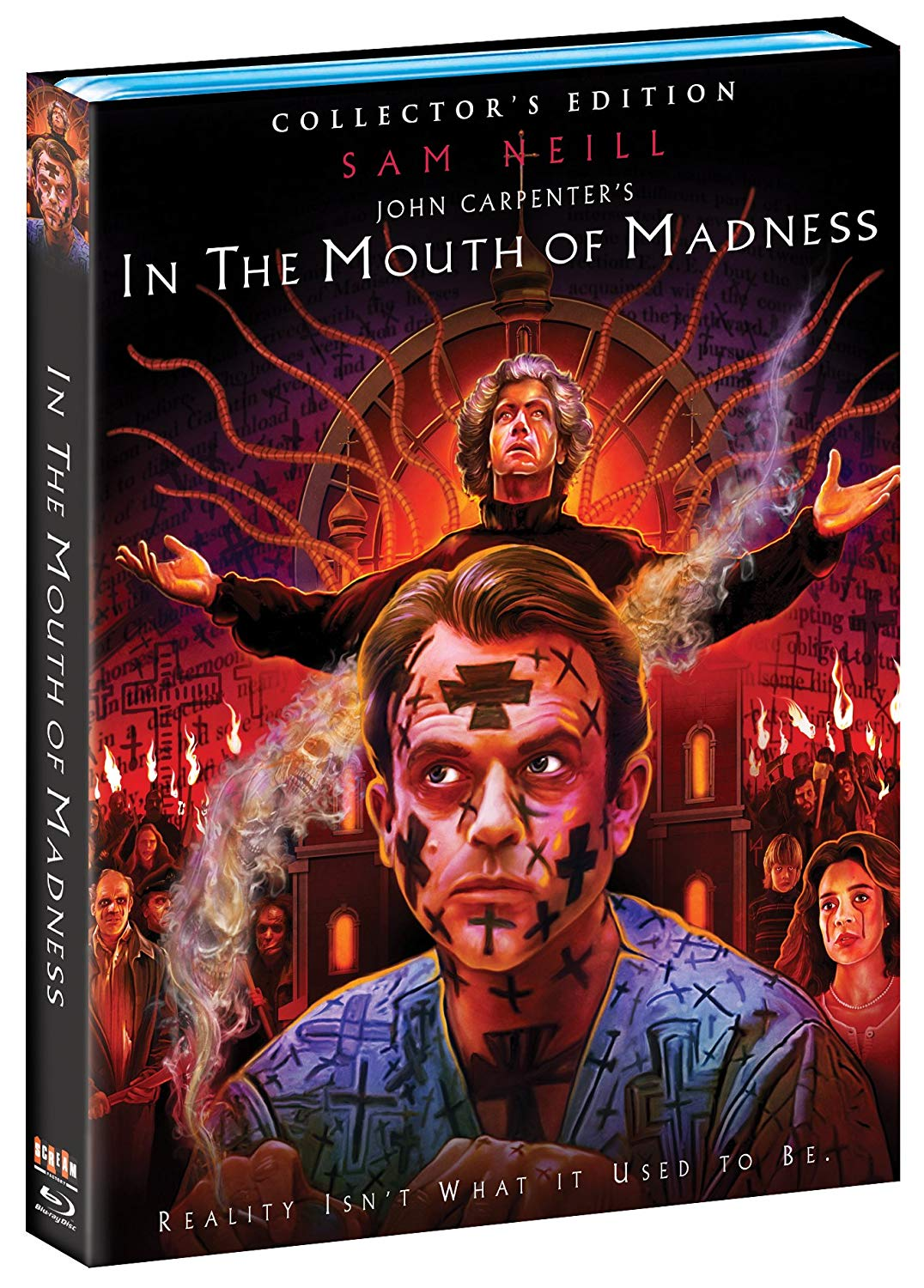 In the Mouth of Madness USA Blu-Ray