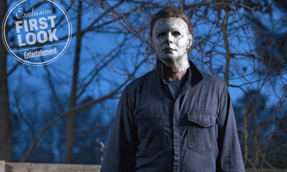 Halloween Movie Sequel Photo Reveales Menacing Michael Myers With Knife