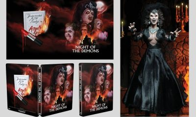 Night of the Demons Steelbook on its Way via Scream Factory With Limited Edition Figure