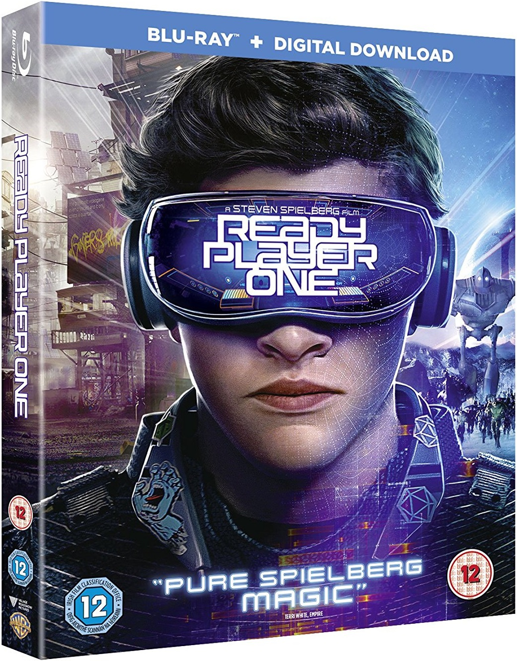 Ready Player One UK Blu-Ray