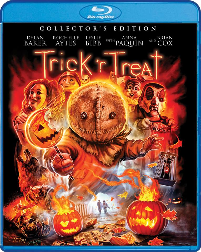 Trick 'r Treat Art SF Blu-Ray