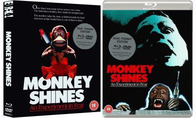 Eureka Smash it Again With Their (UK) release of George A. Romero's 'Monkey Shines' on Blu-Ray