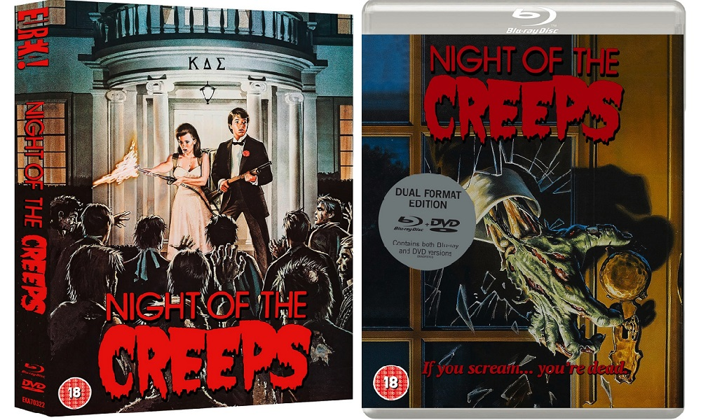 Eureka Releasing 'Night of the Creeps' Limited Edition (UK) Blu-Ray With Epic Slipcase