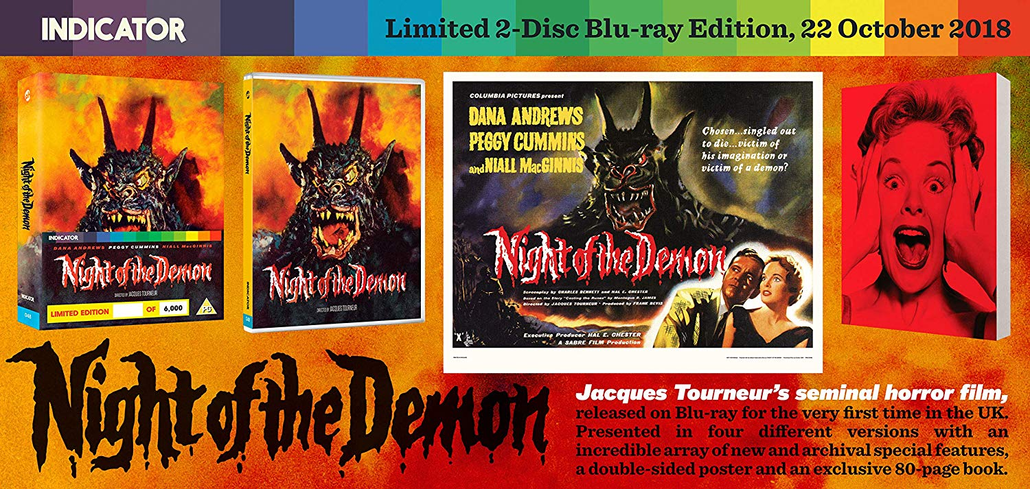 Night of the Demon UK Blu-Ray 1
