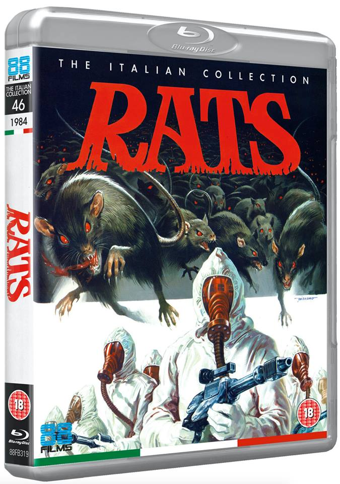 Rats: Night of Terror UK Blu-Ray