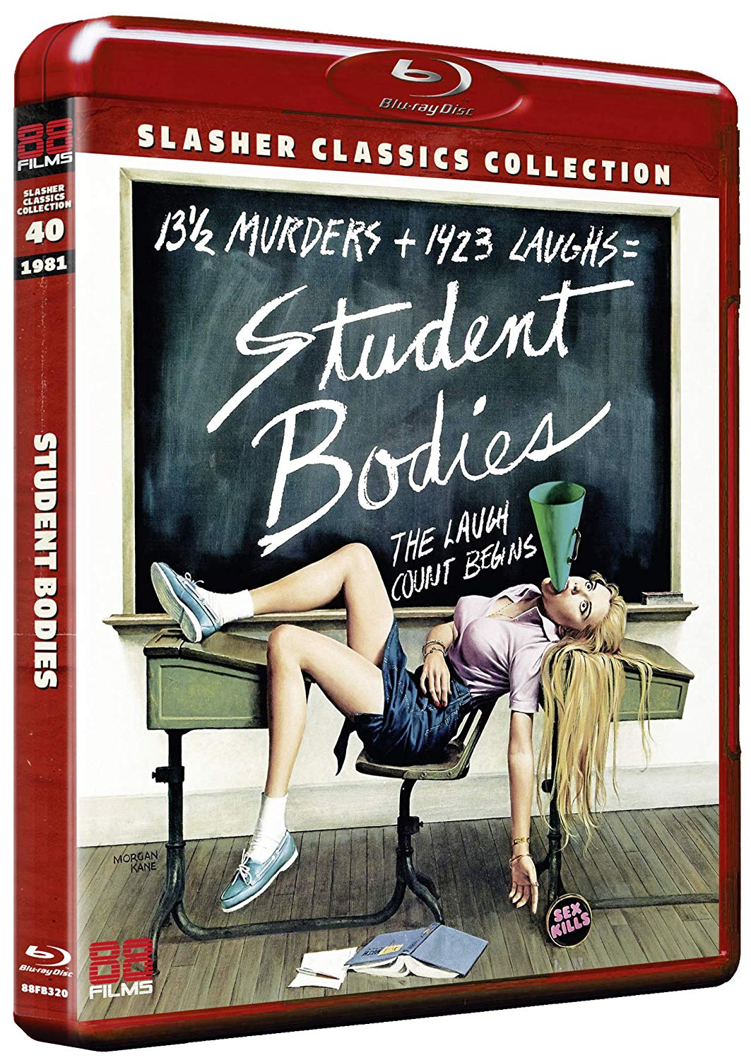 Student Bodies UK Blu-Ray