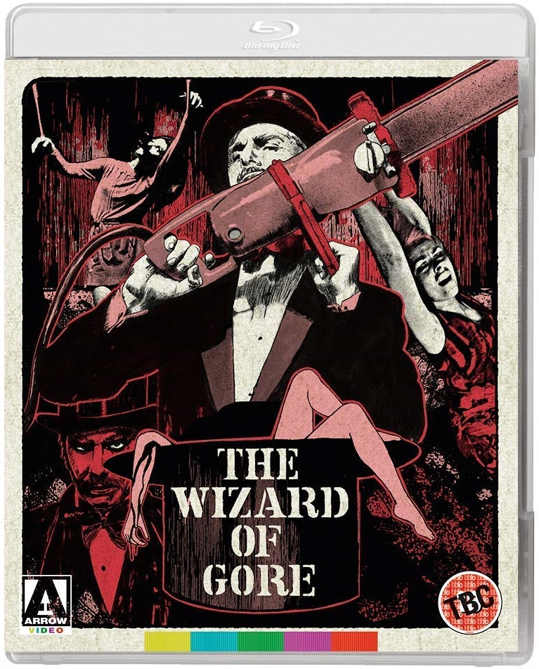 The Wizard Of Gore UK Blu-Ray
