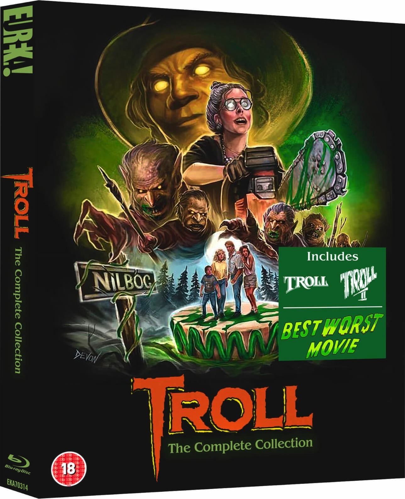Troll 2 Blu-Ray Collection 2