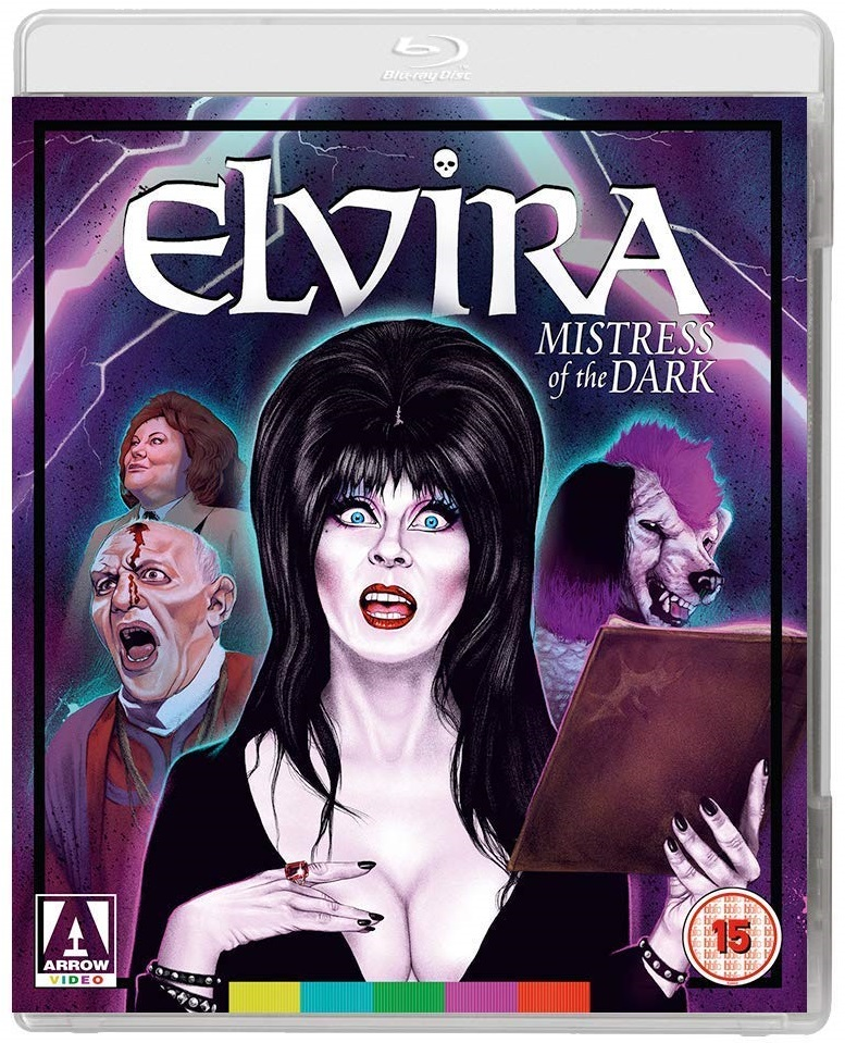 Elvira Mistress Of The Dark UK Blu-Ray