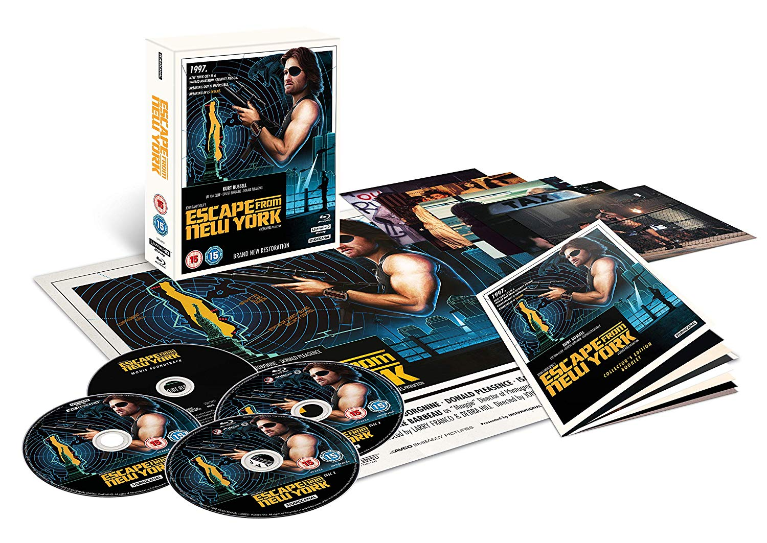 Escape from New York 4K UK Blu-Ray Full