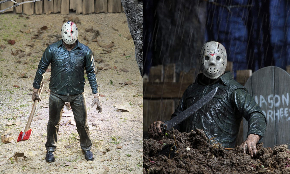 "NECA Shares Packaging for 'Friday the 13th Part V: A New Beginning' ""Dream Sequence"" Jason Figure"
