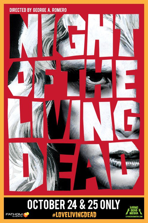 George A. Romero's Night of the Living Dead 50th Anniversary Poster
