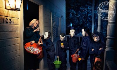 Entertainment Weekly Shares Epic 'Halloween' Photo Shoot With Jamie Lee Curtis