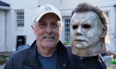 New Photo Shows Nick Castle on the Set of 'Halloween' With the Michael Myers Mask