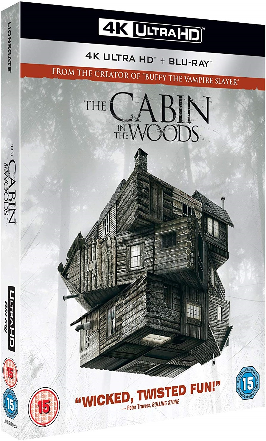 The Cabin in the Woods 4K UK Blu-Ray