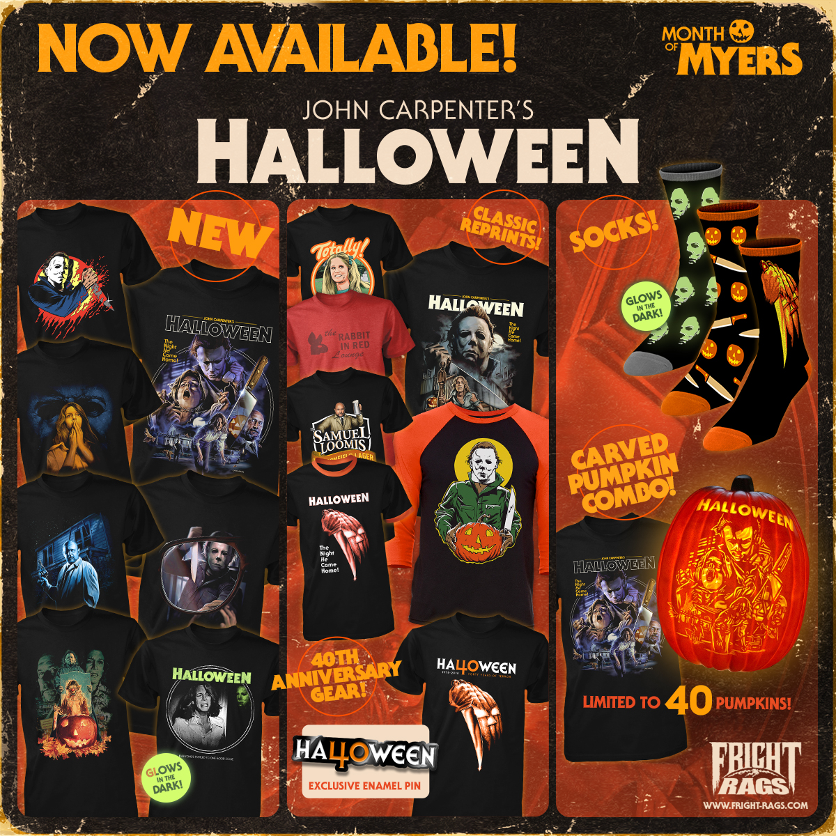 Fright-Rags Michael Myers Halloween Apparel