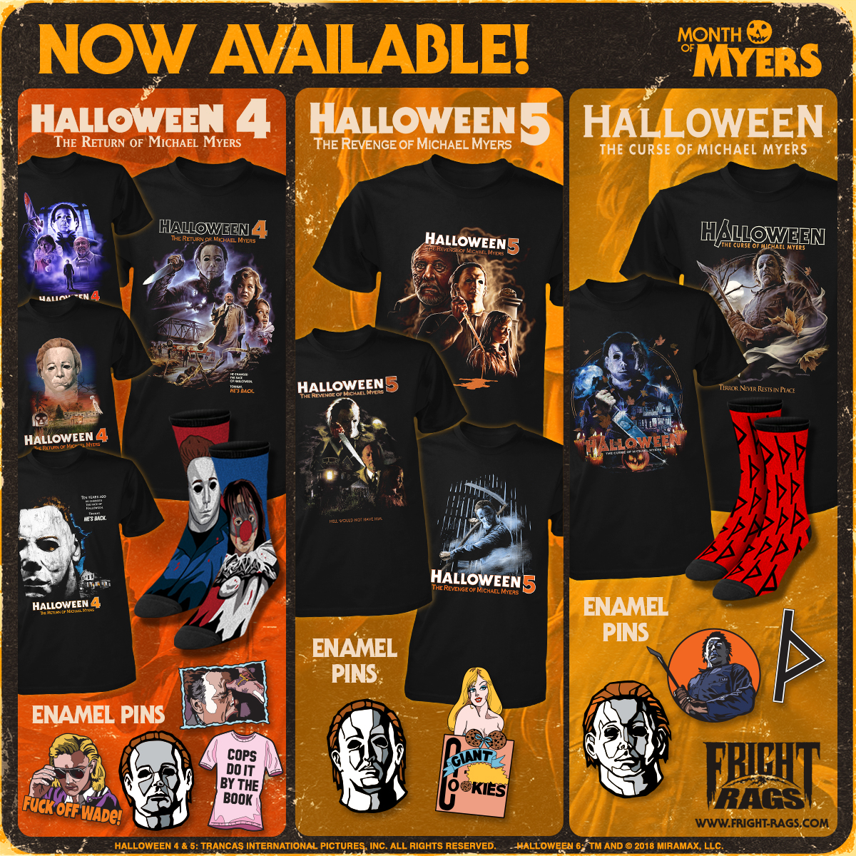 Fright-Rags Michael Myers H4 H5 H6