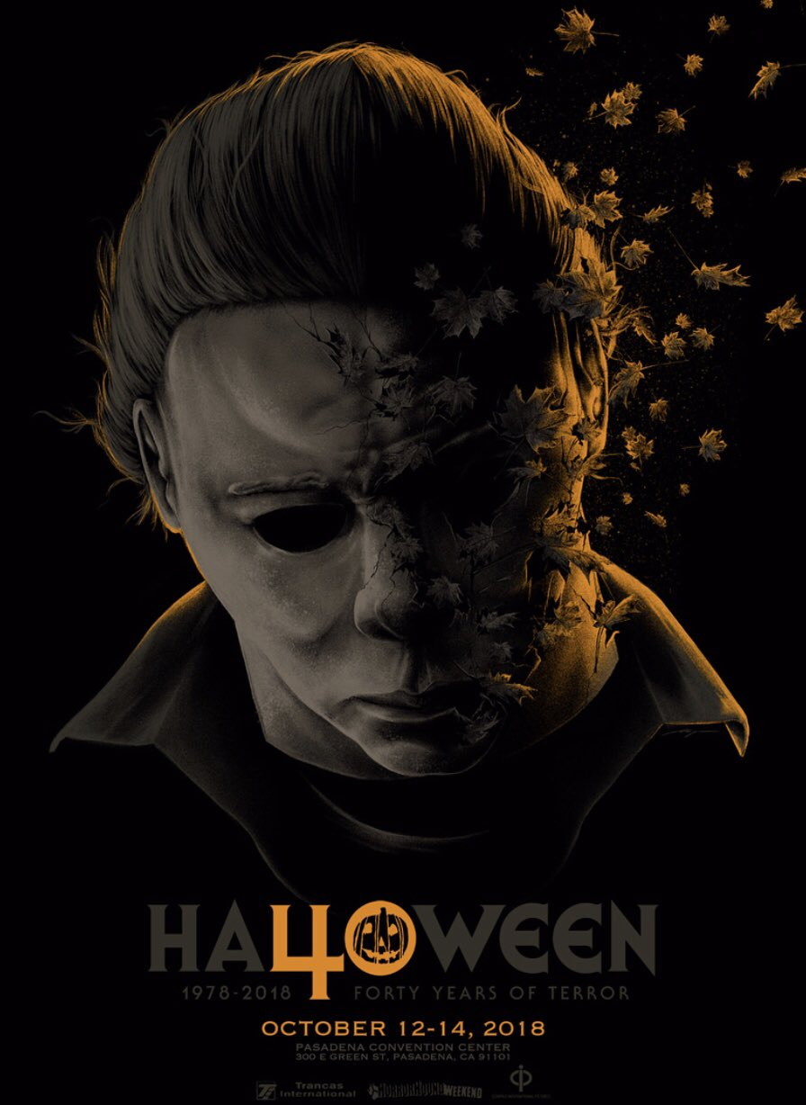 Halloween H40 Convention Poster