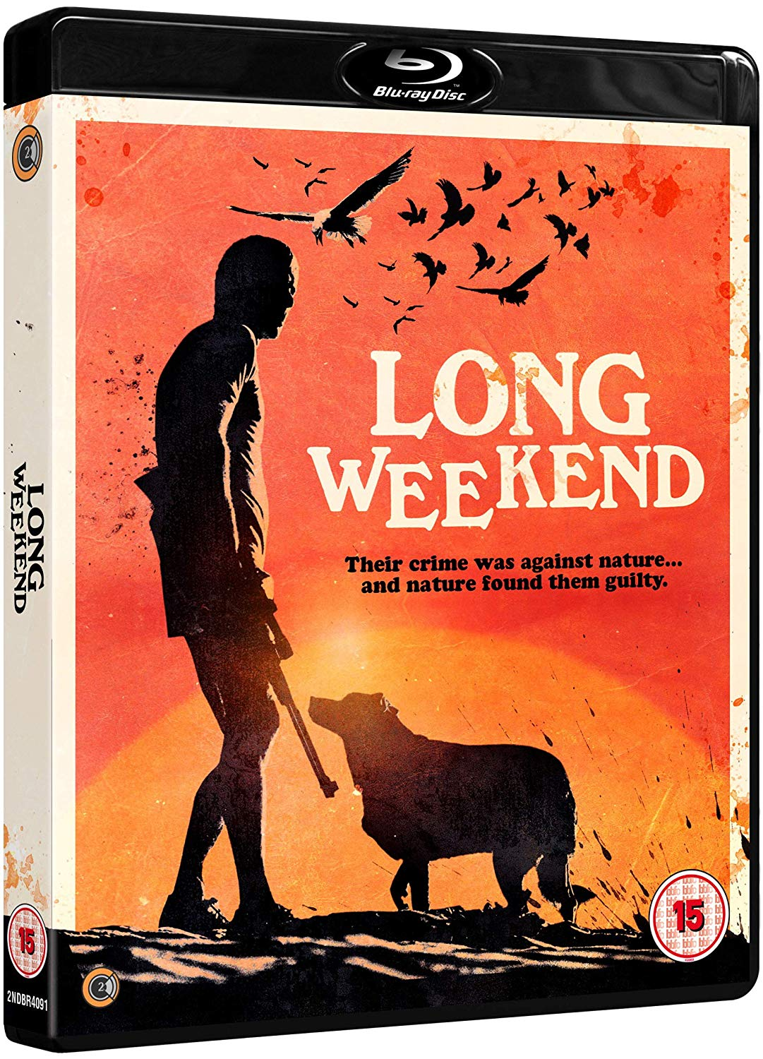 Long Weekend UK Blu-Ray