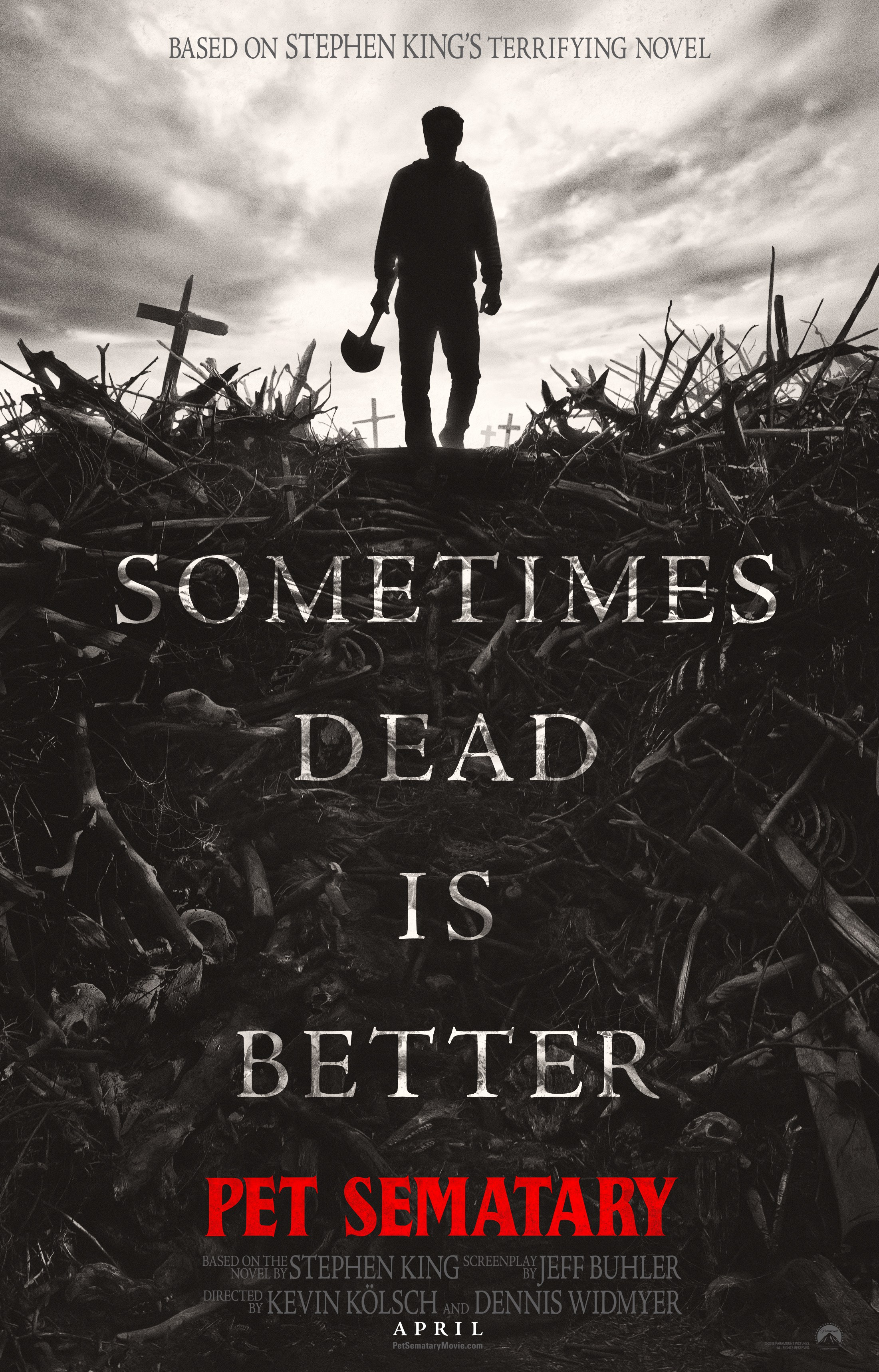 Pet Sematary Remake 2019 Poster