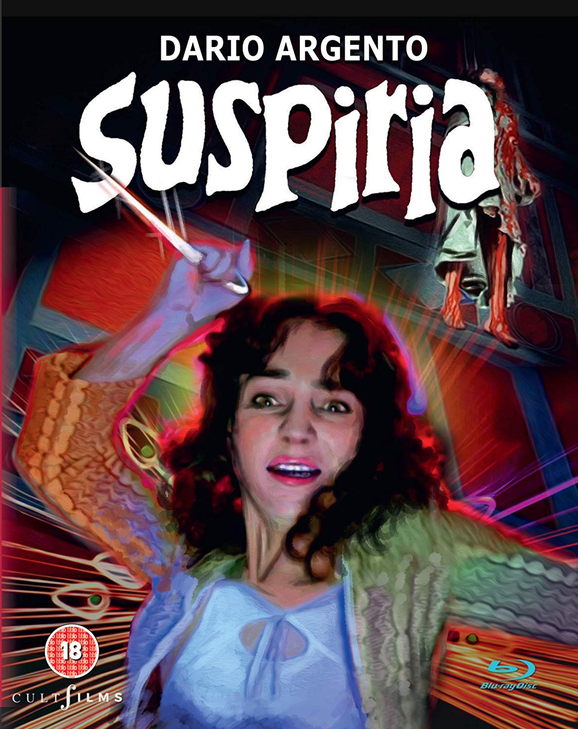 Cult Films Suspiria Special Edition UK Blu-Ray
