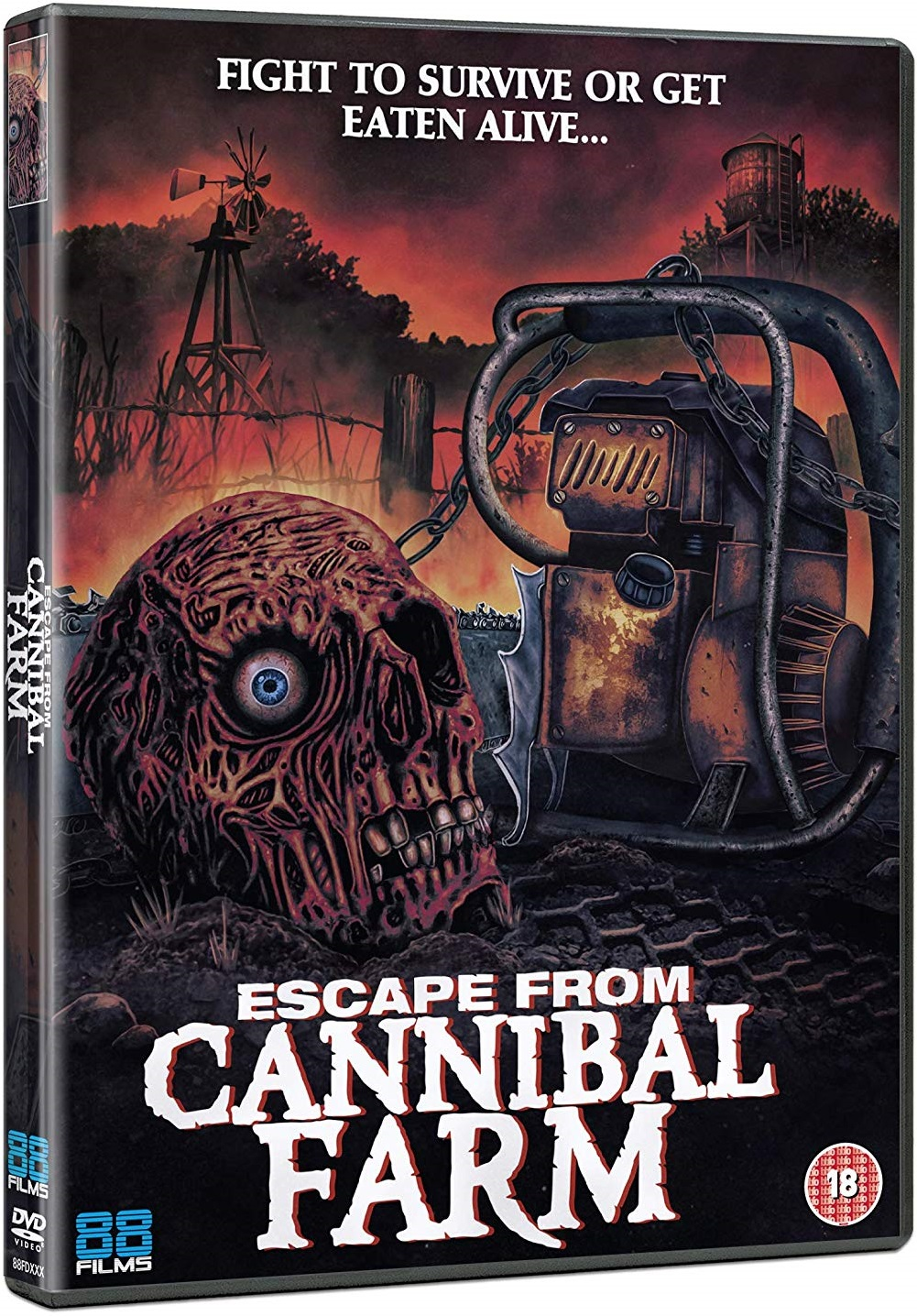 Escape From Cannibal UK DVD