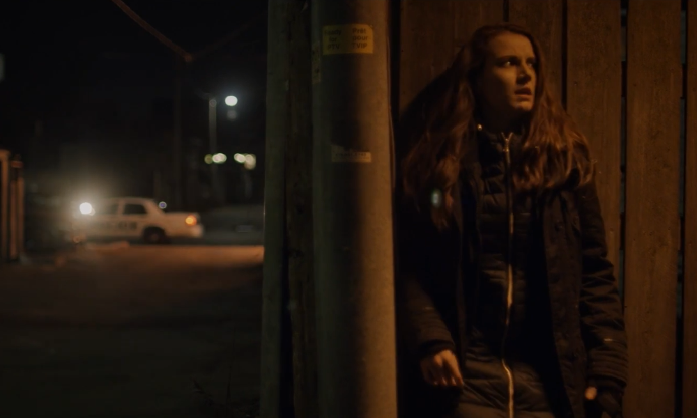Rachel Escapes the Police in New Clip from Body Horror 'Lifechanger'