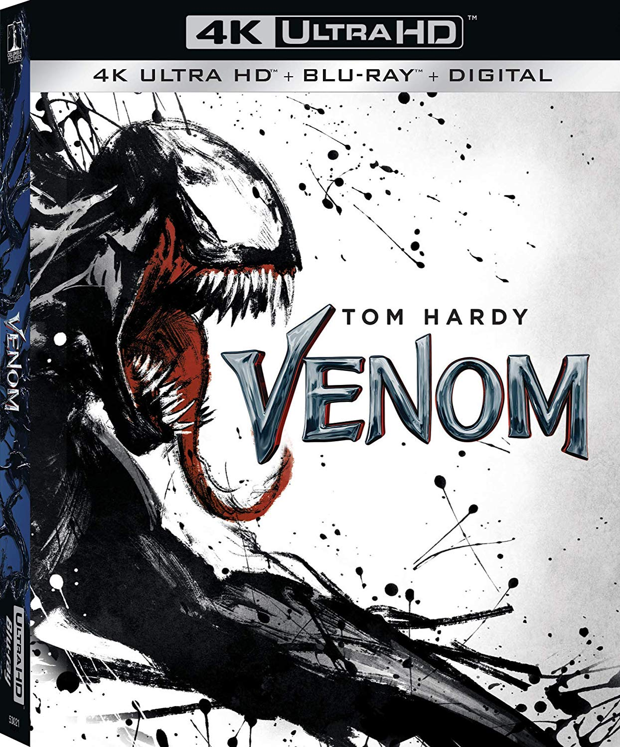Venom 4K UK Blu-Ray