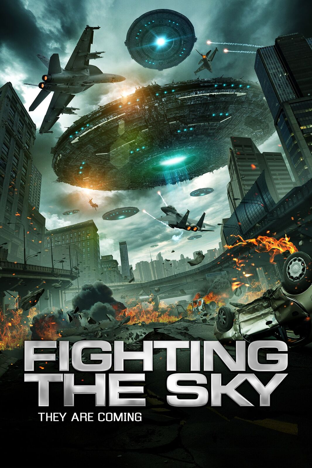 Fighting The Sky Poster