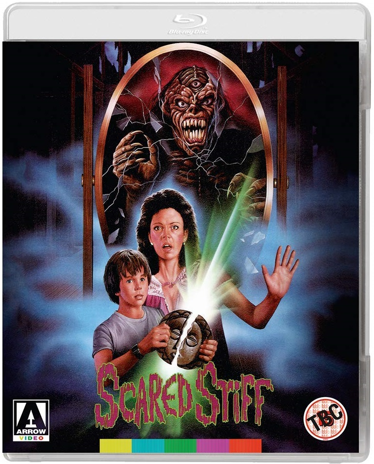 Scared Stiff UK Blu-Ray