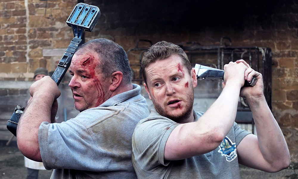 Review: 'Cannibals and Carpet Fitters' is a Lighthearted But Grizzly British Horror Comedy