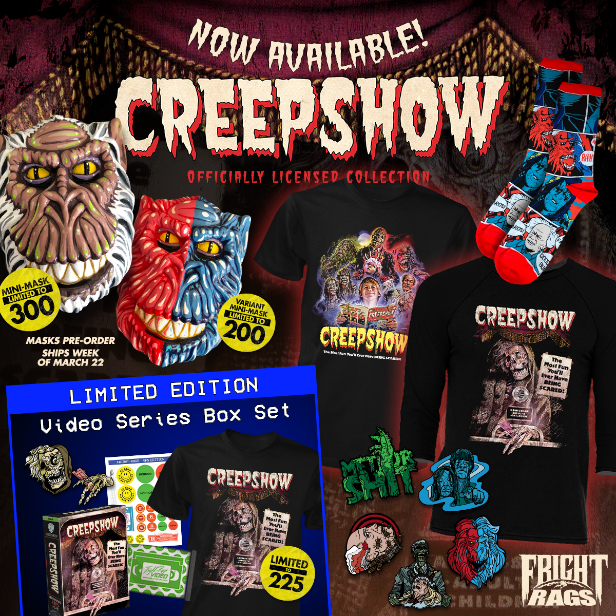 Creepshow FrightRags