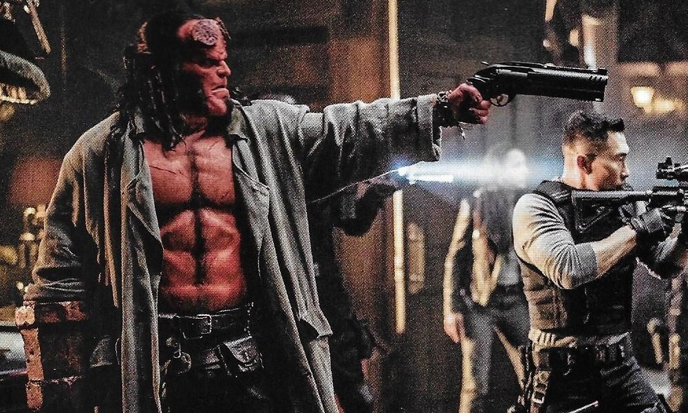 David Harbour is Ready to Unload in New Still from 'Hellboy'