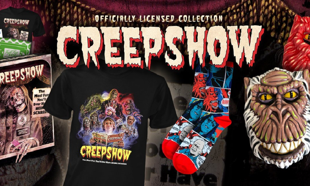 cb35f2de8a7 Fright-Rags Releasing New  Creepshow  VHS Inspired Box Set and  Evil ...