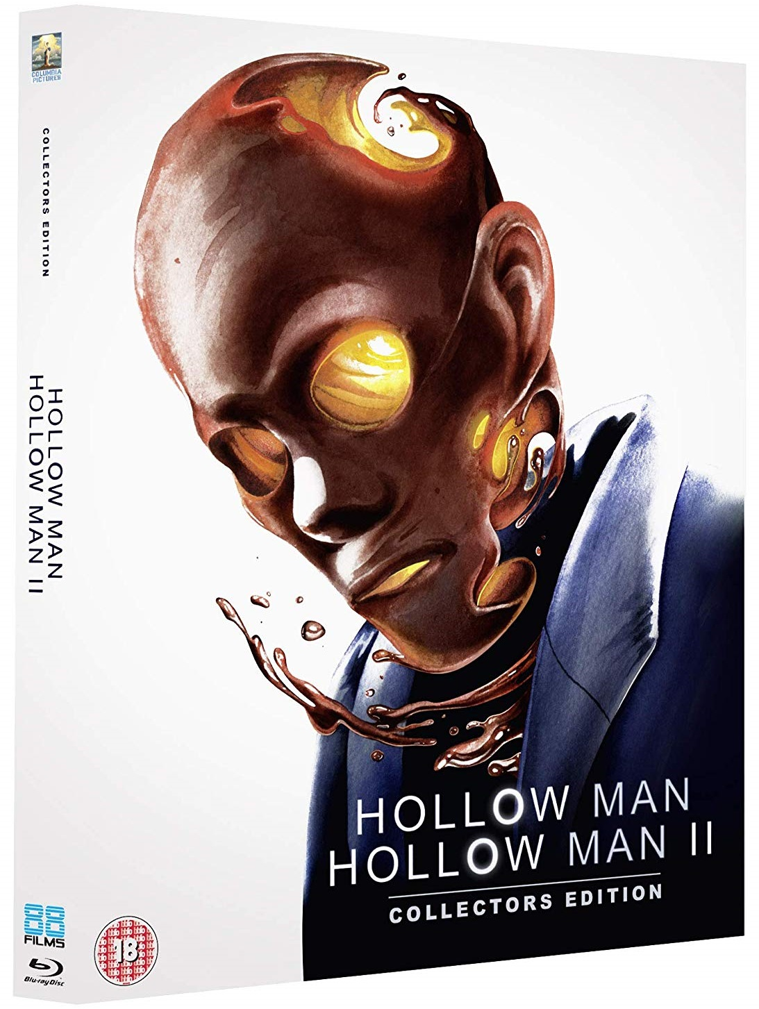 Hollow Man and Hollow Man 2 UK Blu-Ray