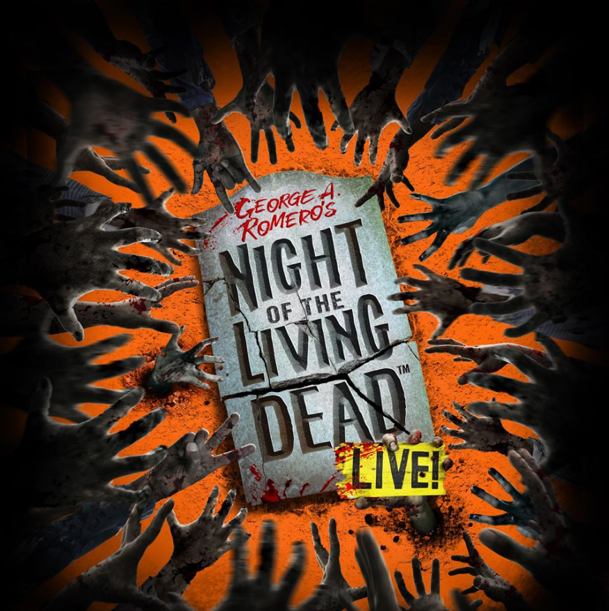 Night of the Living Dead Stage Show Poster
