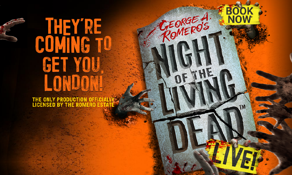 Aria Entertainment to Premiere 'Night of the Living Dead' Live Stage Show in London