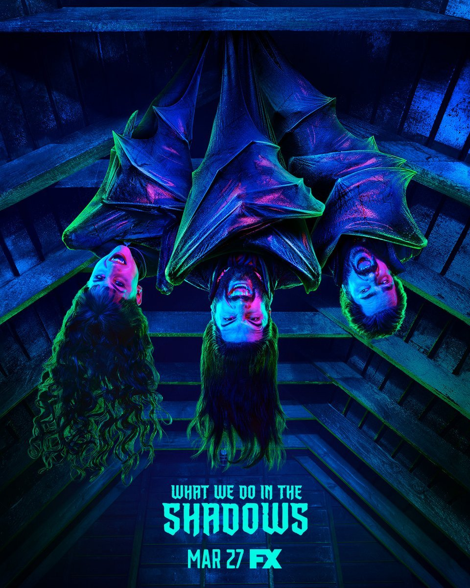 What We Do in the Shadows Poster 2