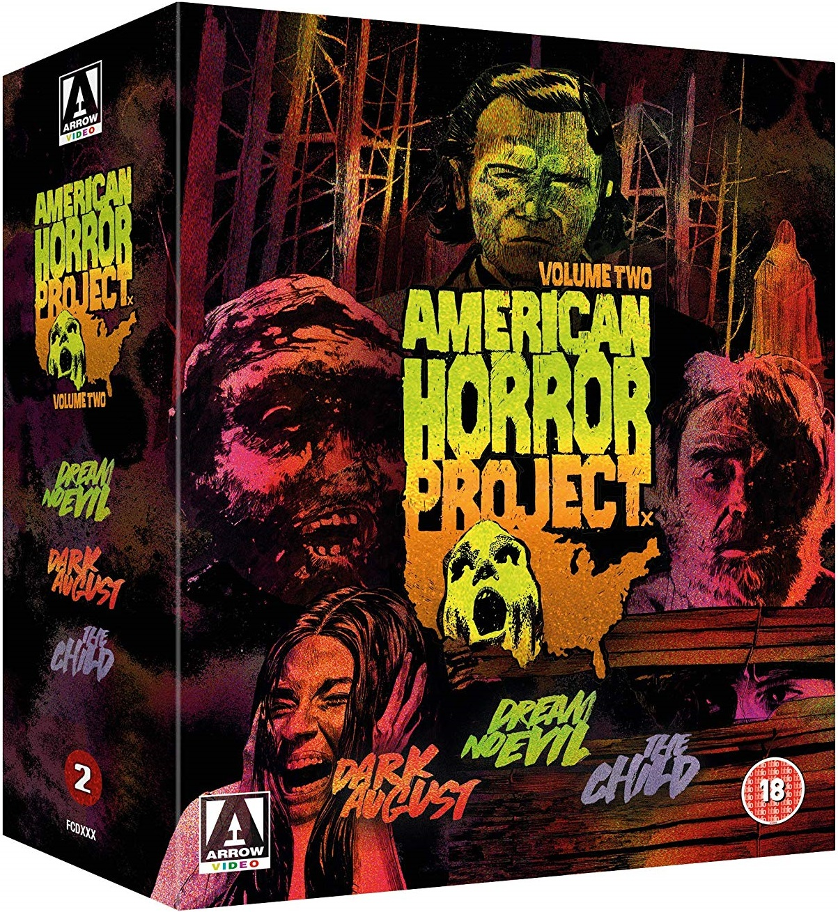 American Horror Project Vol. 2 UK Blu-Ray Box Set 1
