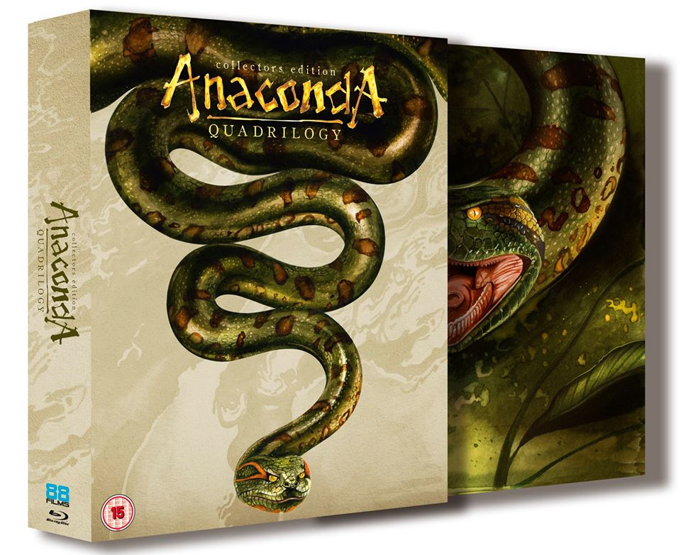 Anaconda Boxset UK Blu-Ray