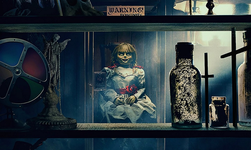 James Wan Teases Creepy New Image from Third 'Annabelle' Movie