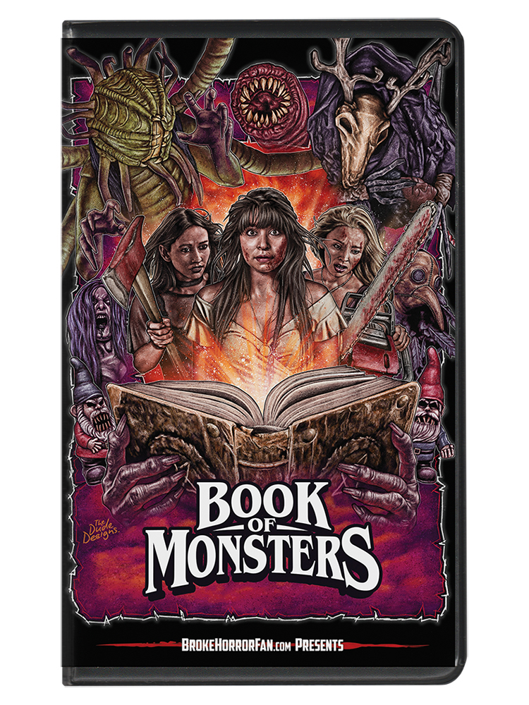 Book of Monsters VHS