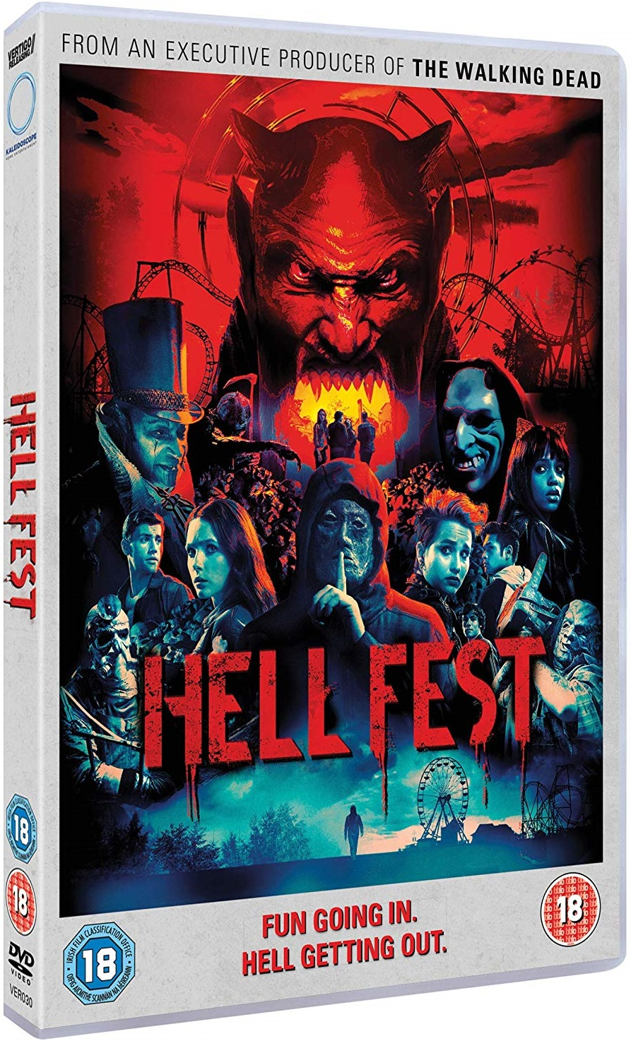 Hell Fest UK DVD