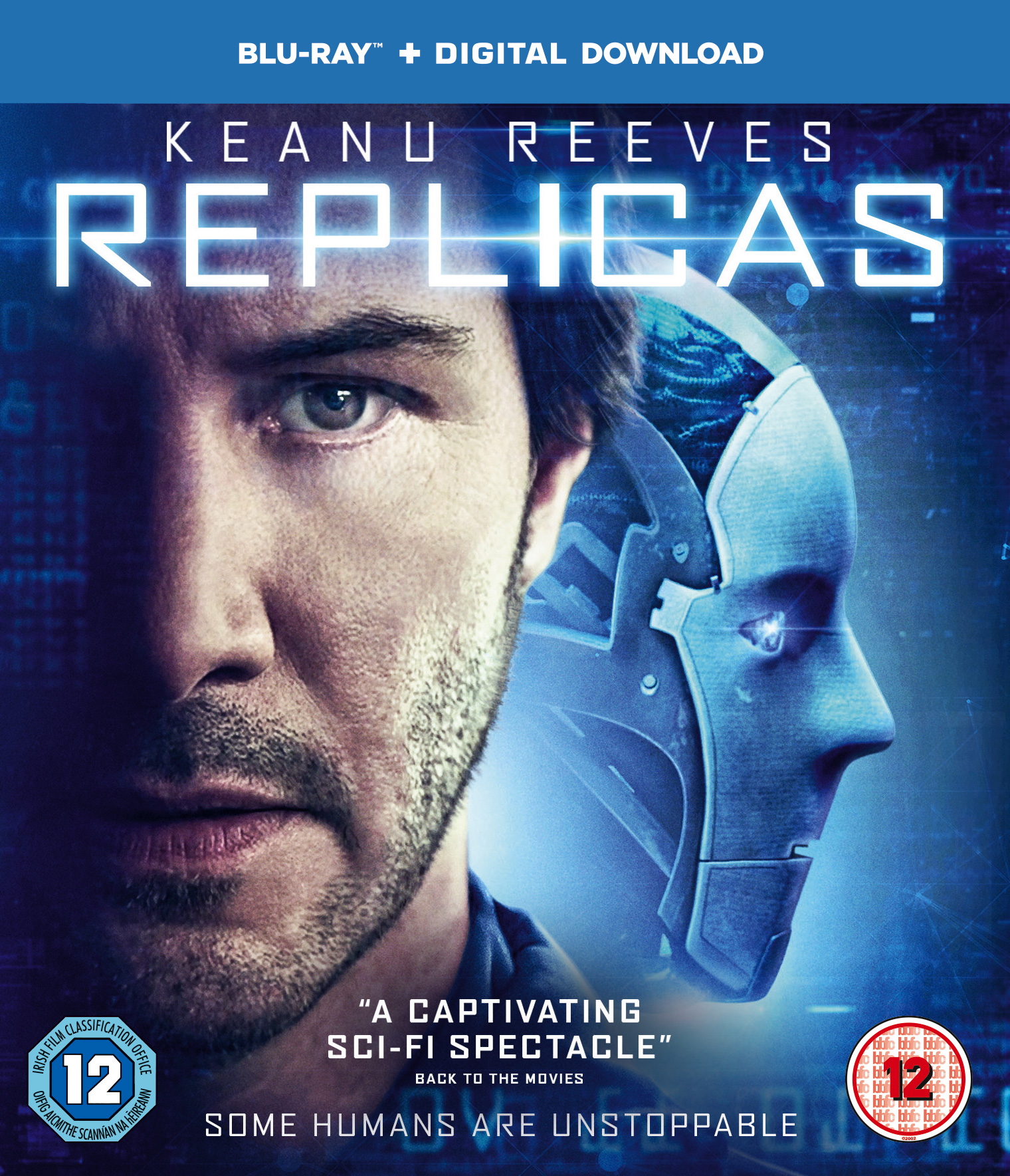 Replicas UK Blu-Ray