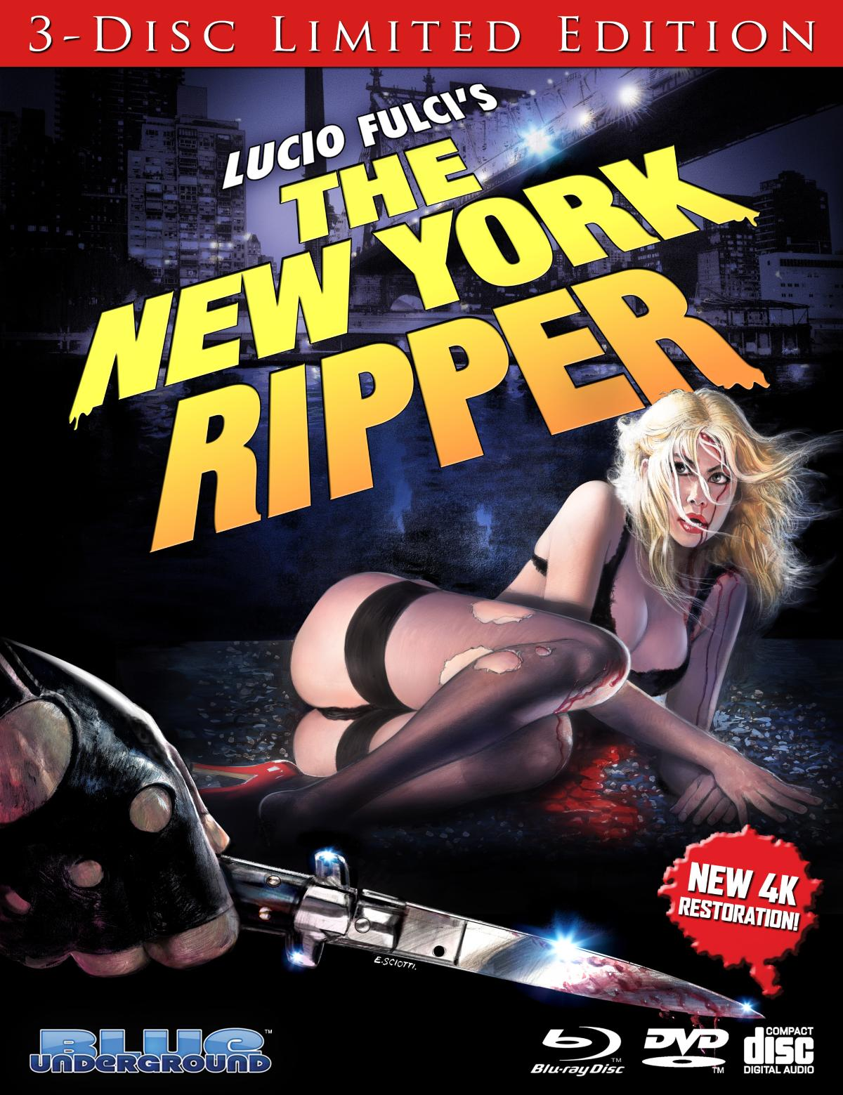 The New York Ripper Blu-Ray 1
