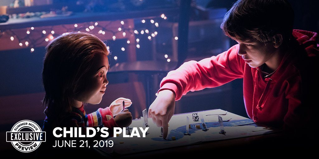 New 'Child's Play' Image - Chucky and Andy Playing Game