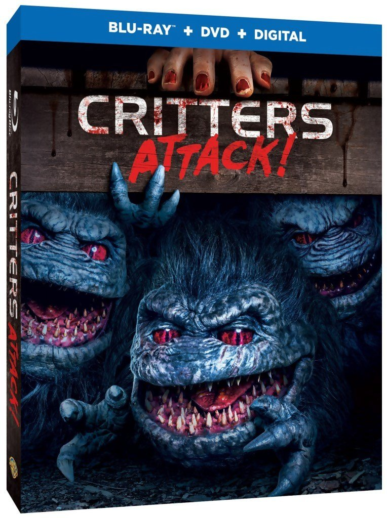 Critters Attack Blu-Ray