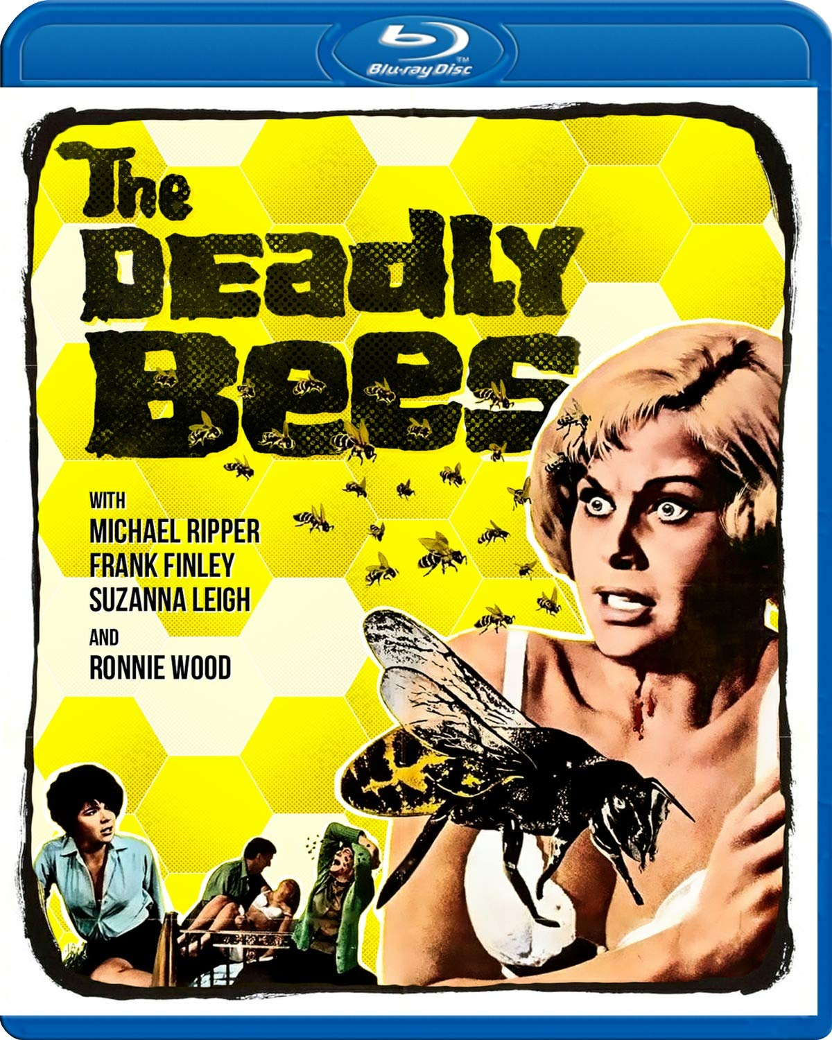 The Deadly Bees UK Blu-Ray
