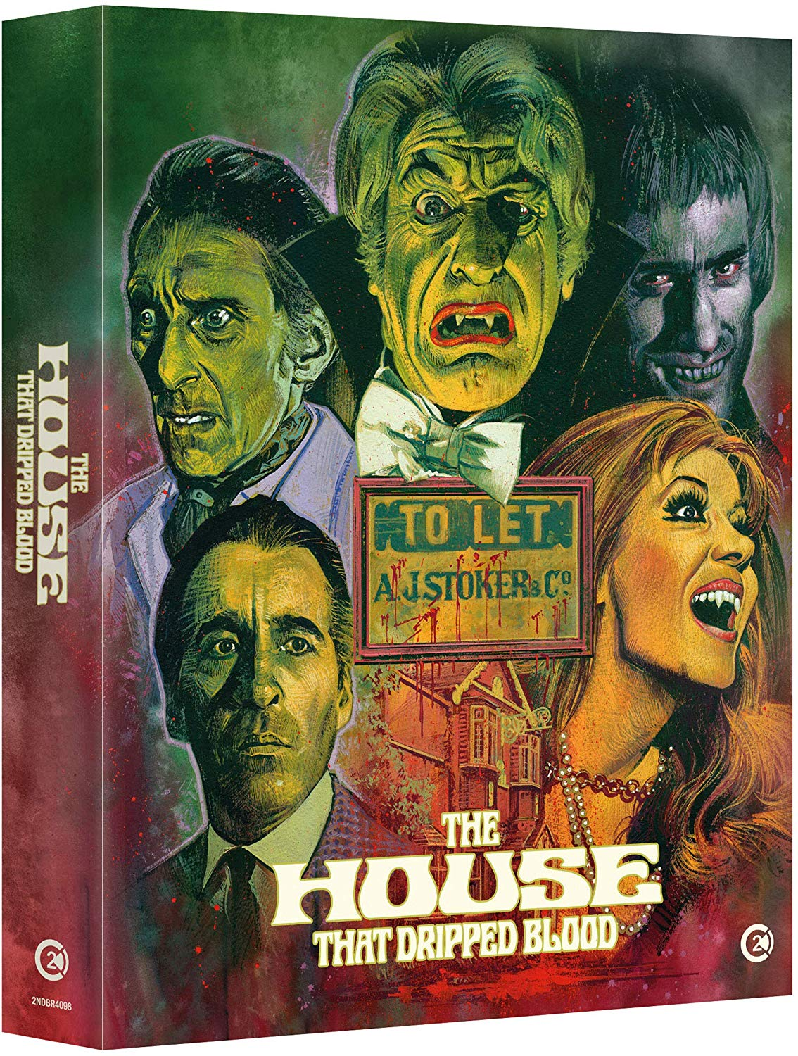 House That Dripped Blood UK Blu-Ray